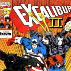 Comics - EXCALIBUR VOL. 1 Nº 59 - FORUM - 168303452
