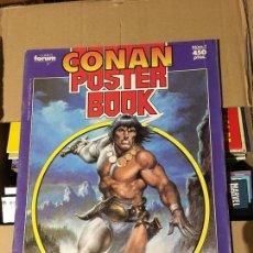 Cómics: CONAN POSTER BOOK - NÚMERO 1 - CÓMICS FORUM 1992. Lote 168398812