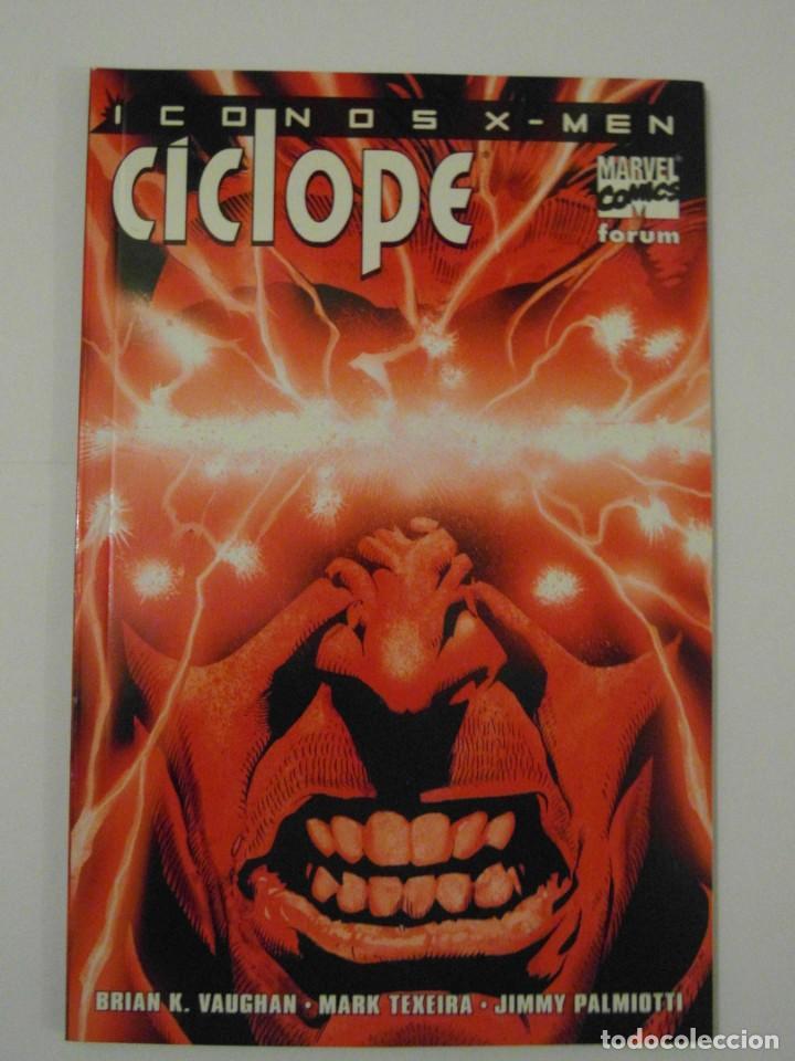 NUEVO SIN ESTRENAR. CICLOPE ICONOS X-MEN. FORUM (Tebeos y Comics - Forum - X-Men)