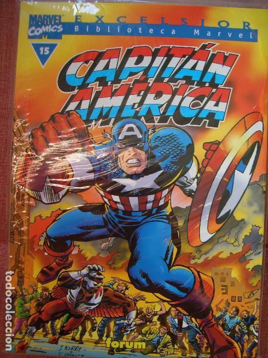 BIBLIOTECA MARVEL: CAPITÁN AMÉRICA # 15 (FORUM, 2000) (Tebeos y Comics - Forum - Capitán América)