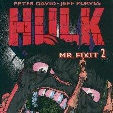 Cómics: HULK. MR. FIXIT. 2 TOMOS. FORUM. PLANETA. Lote 168580366