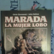 Cómics: MARADA: LA MUJER LOBO: CHRIS CLAREMONT-JOHN BOLTON: NOVELAS GRAFICAS MARVEL: FORUM. Lote 168714408