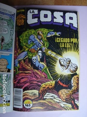 Cómics: LA COSA VS. ¡LAS COSAS! RETAPADO CON NÚMEROS:11, 12, 13, 14 Y 15. - Foto 5 - 168744652