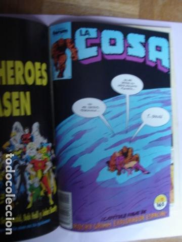 Cómics: LA COSA VS. ¡LAS COSAS! RETAPADO CON NÚMEROS:11, 12, 13, 14 Y 15. - Foto 8 - 168744652