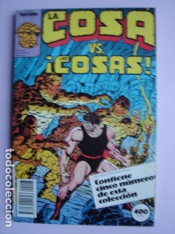LA COSA VS. ¡LAS COSAS! RETAPADO CON NÚMEROS:11, 12, 13, 14 Y 15. (Tebeos y Comics - Forum - Retapados)