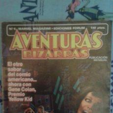 Cómics: AVENTURAS BIZARRAS N 6: DEDICADO A GENE COLAN: FORUM. Lote 168829057