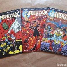 Cómics: FUERZA-X 1 2 Y 3 COMPLETA - MILLIGAN Y ALLRED - FORUM - JMV. Lote 168843292