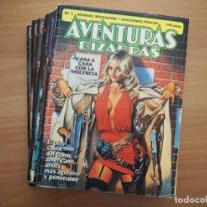 Comics : AVENTURAS BIZARRAS - 15 NÚMEROS - COLECCIÓN COMPLETA. Lote 168855780