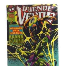 Comics : DUENDE VERDE N,3 ATRAPADO EN LA ARAÑA ESCARLATA. Lote 168920992