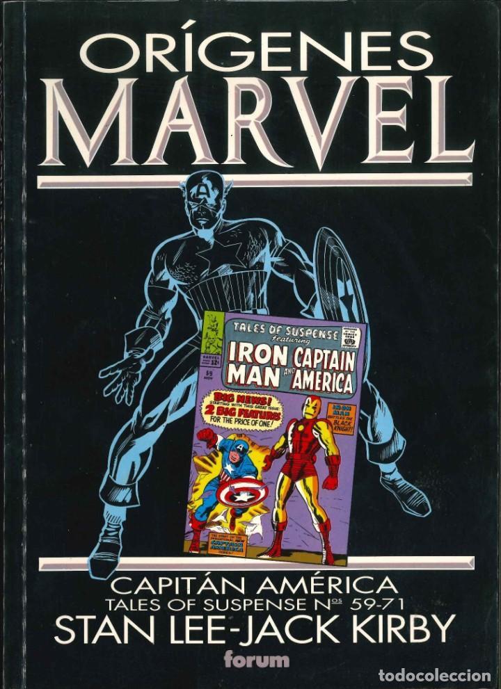 ORÍGENES MARVEL CAPITÁN AMÉRICA CÓMICS FÓRUM MARVEL (Tebeos y Comics - Forum - Otros Forum)
