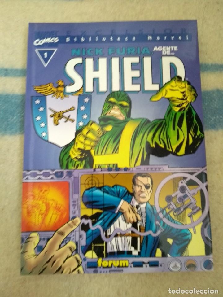 NICK FURIA AGENTE DE S.H.I.E.L.D. - BIBLIOTECA MARVEL - TOMO ÚNICO (Tebeos y Comics - Forum - Furia)
