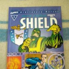 Cómics: NICK FURIA AGENTE DE S.H.I.E.L.D. - BIBLIOTECA MARVEL - TOMO ÚNICO. Lote 168997932