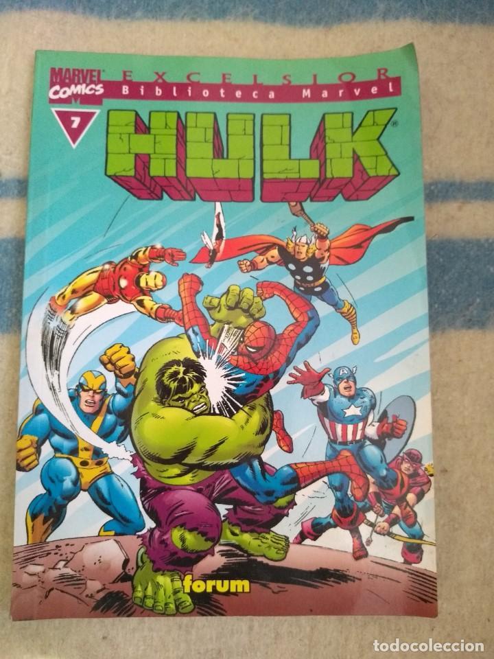 HULK Nº 7 - BIBLIOTECA MARVEL (Tebeos y Comics - Forum - Hulk)
