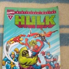 Cómics: HULK Nº 7 - BIBLIOTECA MARVEL. Lote 168999284