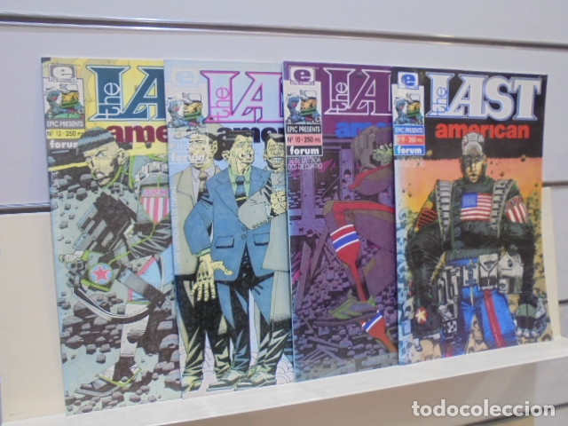 THE LAST AMERICAN COMPLETA 4 NUMEROS EPIC PRESENTS Nº 9-10-11 Y 12 - FORUM - OFERTA (Tebeos y Comics - Forum - Otros Forum)
