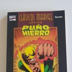 Cómics: MARVEL COMICS - CLÁSICOS MARVEL BLANCO Y NEGRO PUÑO DE HIERRO DE CHRIS CLAREMONT Y JOHN BYRNE FORUM. Lote 169120128