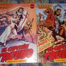 Cómics: AVENTURAS BIZARRAS: EL CAPITAN TRUENO: COMPLETA EN 2 TOMOS: FORUM. Lote 169133761