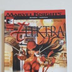 Cómics: MARVEL COMICS - MARVEL KNIGHTS ELEKTRA Nº 1 BRIAN MICHAEL BENDIS Y CHUCK AUSTEN FORUM 2002. Lote 169138068