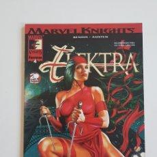 Cómics: MARVEL COMICS - MARVEL KNIGHTS ELEKTRA Nº 4 BRIAN MICHAEL BENDIS Y CHUCK AUSTEN FORUM 2002. Lote 169138148