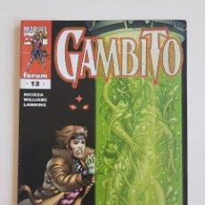 Cómics: MARVEL COMICS - GAMBITO VOL. 2 Nº 13 FABIAN NICIEZA ANTHONY WILLIAMS 2000 FORUM. Lote 169139544