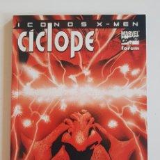 Cómics: MARVEL COMICS - ÍCONOS X-MEN - CÍCLOPE FORUM 2002. Lote 169140072