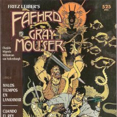 Cómics: FAFHRD AND THE GREY MOUSER . Lote 169320908