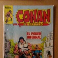 Cómics: CONAN EL BÁRBARO 1ª EDICIÓN FORUM NÚMERO 134. Lote 169352280