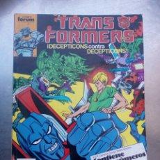 Cómics: TRANSFORMERS, TOMO RETAPADO 41 AL 45 1988 FORUM,. Lote 169375833