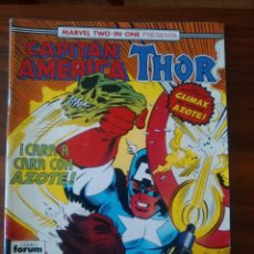 Cómics: MARVEL TWO-IN-ONE - CAPITÁN AMÉRICA - THOR - MARVEL COMICS - FORUM - 61. Lote 169467912