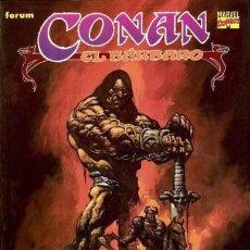 Cómics: NOVELAS GRÁFICAS CONAN - COMPLETA - 10 TOMOS - FORUM. Lote 169622896