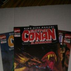Cómics: CONAN EXTRA KING-SIZE ANNUAL, 2 Y 3 DE 11. SE VENDEN SUELTOS A 1,95 €.. Lote 169649404