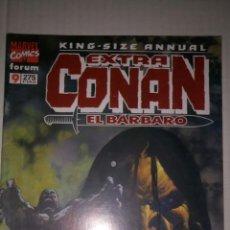 Cómics: CONAN EXTRA KING-SIZE ANNUAL, 9 DE 11. MUY BUEN ESTADO.. Lote 169650106