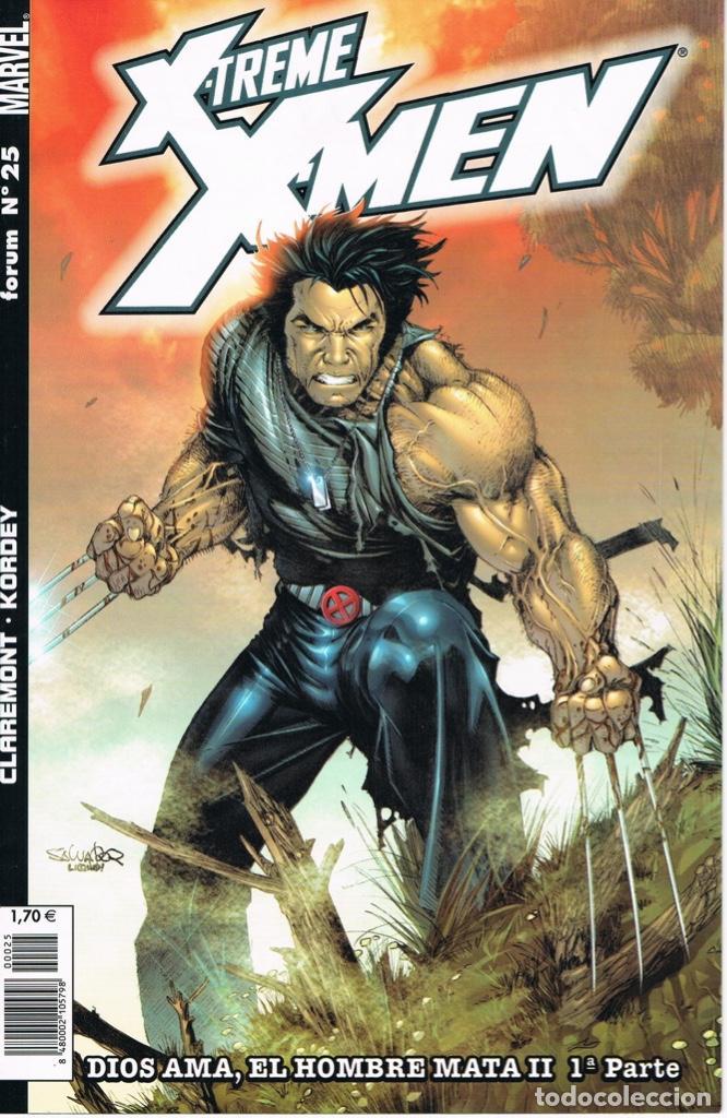 X-TREME X-MEN NUMEROS 25 A 30 DIOS AMA, EL HOMBRE MATA II POR CLAREMONT Y KORDEY (COMPLETA) (Tebeos y Comics - Forum - X-Men)