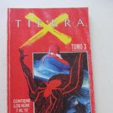Cómics: TIERRA X. TOMO 3 CONTIENE LOS Nº 7 AL 10 - FORUM SDX14. Lote 169732588