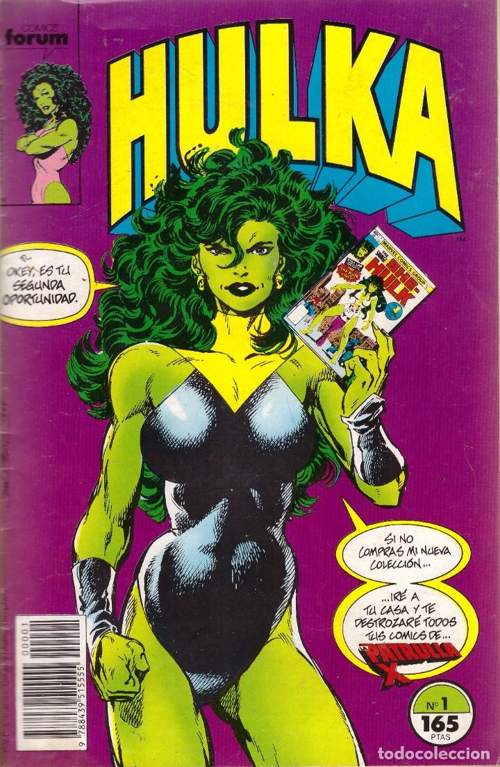 COMIC HULKA, Nº 1 - FORUM (Tebeos y Comics - Forum - Hulk)