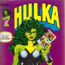 Cómics: COMIC HULKA, Nº 1 - FORUM. Lote 169746176