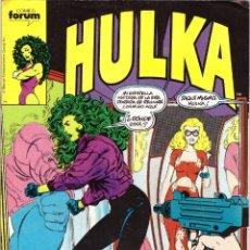 Cómics: COMIC HULKA, Nº 4 - FORUM. Lote 169746308