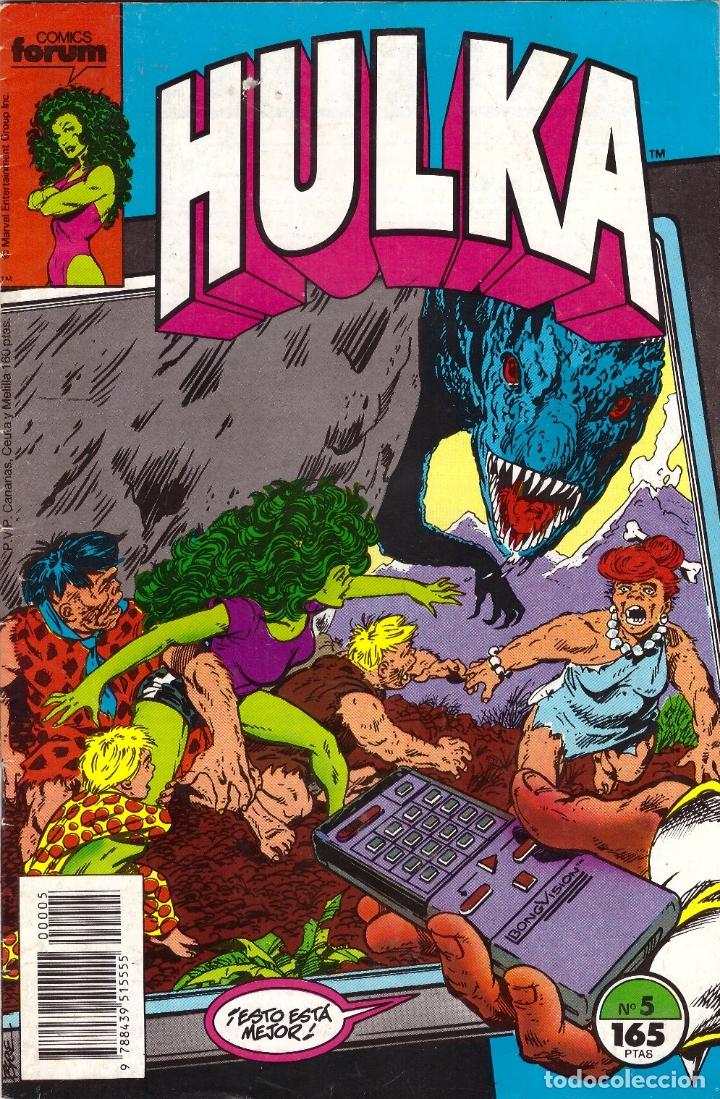 COMIC HULKA, Nº 5 - FORUM (Tebeos y Comics - Forum - Hulk)