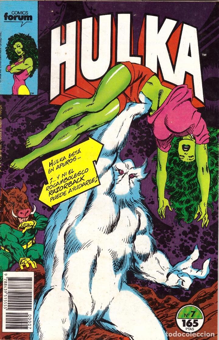COMIC HULKA, Nº 7 - FORUM (Tebeos y Comics - Forum - Hulk)