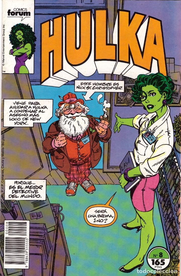 COMIC HULKA, Nº 8 - FORUM (Tebeos y Comics - Forum - Hulk)