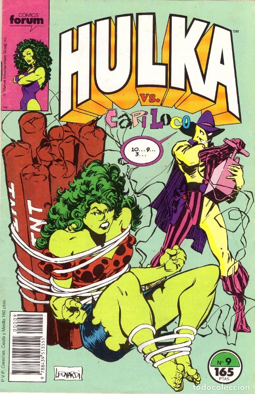 COMIC HULKA, Nº 9 - FORUM (Tebeos y Comics - Forum - Hulk)