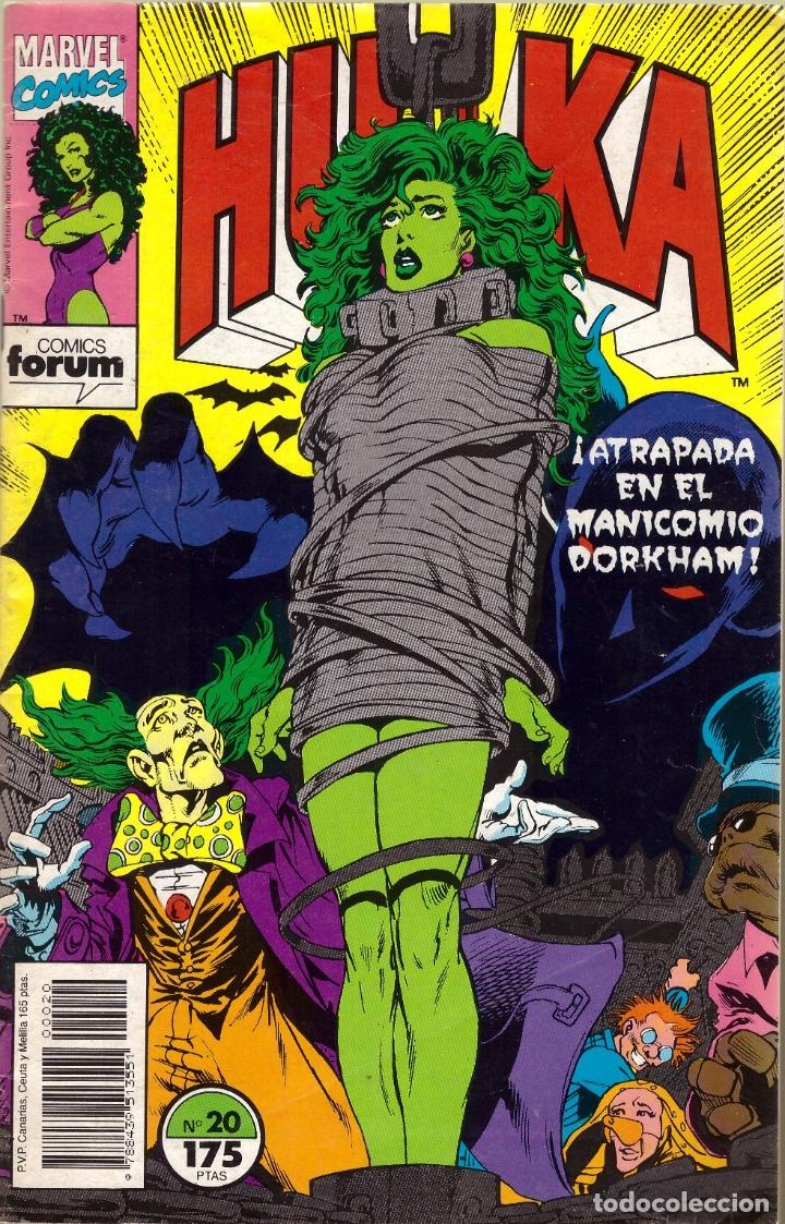COMIC HULKA, Nº 20 - FORUM (Tebeos y Comics - Forum - Hulk)