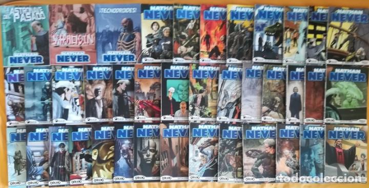 NATHAN NEVER VOL 1 COMPLETA 36 MAS 1,2,3 DEL VOL 3 TODOS PERFECTO ESTADO (Tebeos y Comics - Forum - Otros Forum)