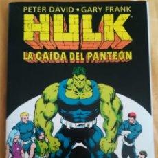 Cómics: HULK LA CAIDA DEL PANTEON. Lote 169783200