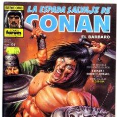 Cómics: LA ESPADA SALVAJE DE CONAN Nº 136. Lote 169831060