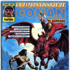Cómics: LA ESPADA SALVAJE DE CONAN Nº 142. Lote 169831184