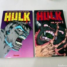Cómics: HULK MR. FIXIT COMPLETA COMICS FORUM HULK MR. FIXIT COMPLETA 2 TOMOS MARVEL COMICS - COMICS FORUM. Lote 169886701