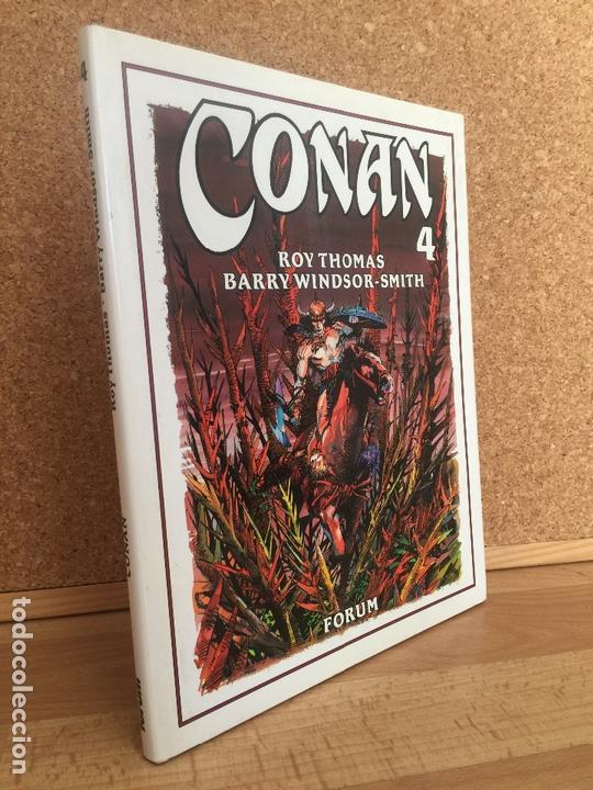 CONAN 4 - ROY THOMAS / BARRY WINDSOR SMITH - FORUM / PLANETA - GCH (Tebeos y Comics - Forum - Conan)