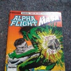 Cómics: ALPHA FLIGHT & LA MASA NºS 51 52 Y 53 EN UN TOMO RETAPADO - MUY BUEN ESTADO - TODD MCFARLANE. Lote 170235724