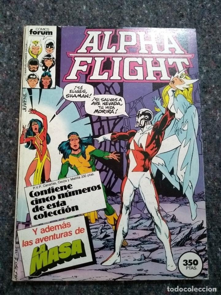 ALPHA FLIGHT NºS 27 28 29 30 Y 31 - CON LA MASA - JOHN BYRNE (Tebeos y Comics - Forum - Alpha Flight)